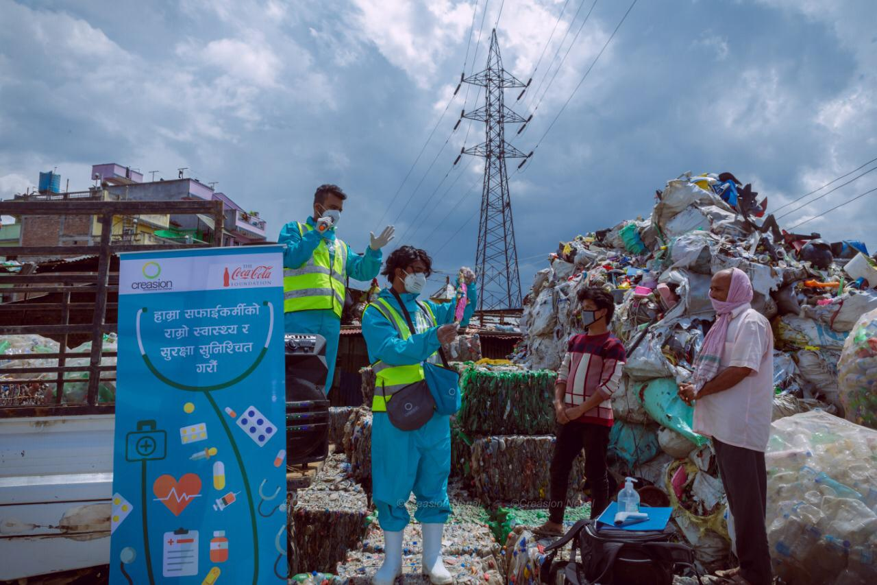 CREASION and Coca-Cola Delivers Commitment to Over 3200 Waste Workers