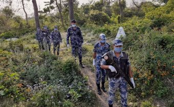 Border surveillance posts are being set up at three more places along the border with India