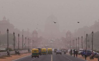 The air in New Delhi, the capital of India, is polluted all over the world