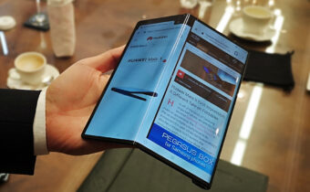 Huawei's third foldable mobile phone goes public