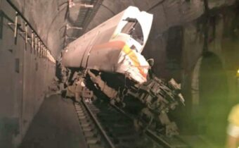 Rail accident in Taiwan