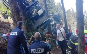 Italy cable car accident