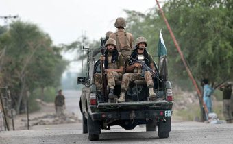 7 soldiers martyred 5 terrorists killed in South Waziristan operation