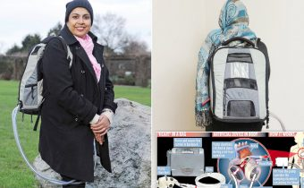 Meet Selwa Hussain, the woman who carries her heart in a bag