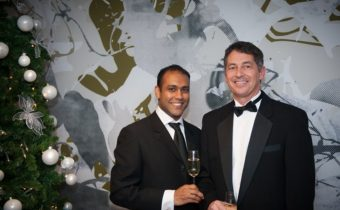 Randy Berry, right, seen with spouse Pravesh Singh at a 2012 gala, has been named special envoy for the human rights of LGBT persons