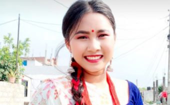young leader in nepal